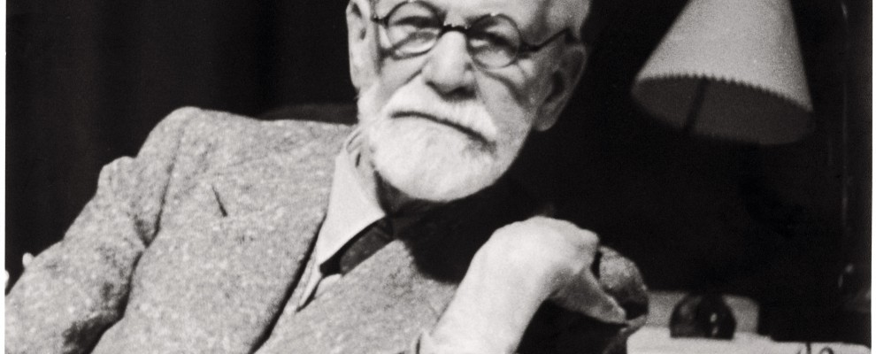 In this photo released by the Sigmund Freud Museum in Vienna former Austrian psychoanalyst Sigmund Freud is pictured in his working room in 1938. Austria and the world will be celebrating Sigmund Freud